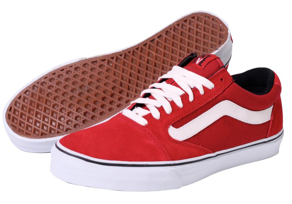 VANS TNT 5(Trujillo) ? Dark Scarlet/White (RED) : Price 3350.-
