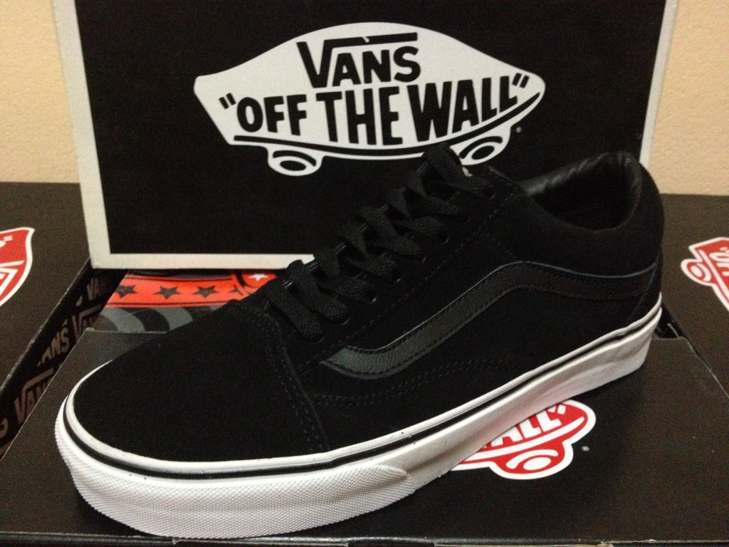 VANS Old Skool - Black [Suede] : 2590.-