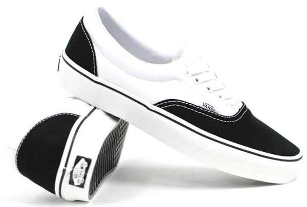 Vans Era - (Two Tone) Black/White : 1950.-