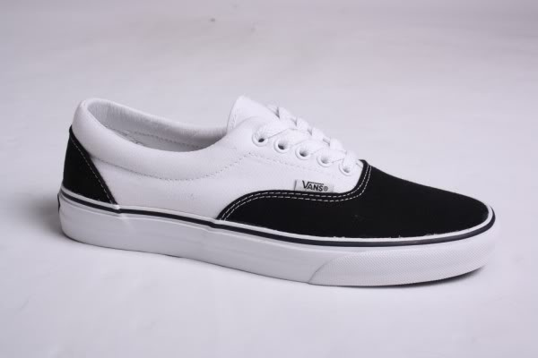Vans Black And White Era
