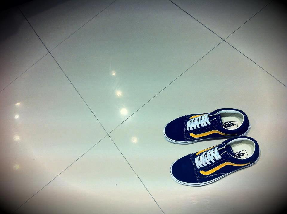 Vans Old Skool - Dress Blues/Citrus : 2,450.-