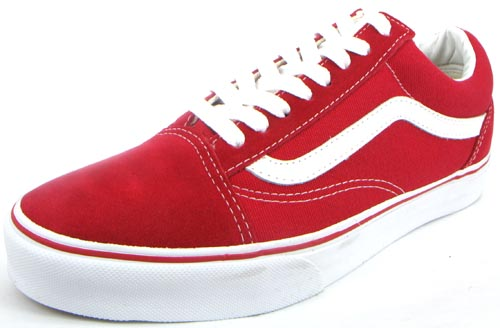 Vans Old Skool - Red True White : 2290.-