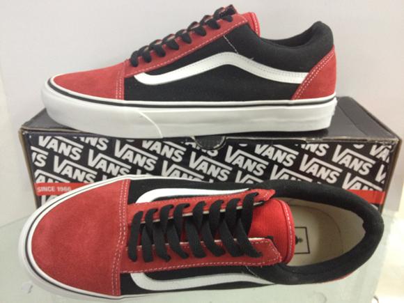 Vans Old Skool - High Risk Red : 2590.-