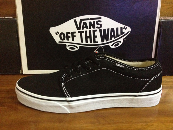 VANS 106 Vulcanized - Black/White : 1650.-
