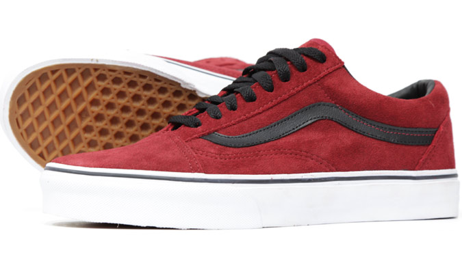 VANS Old Skool - Rio Red [Suede] : 3090.-