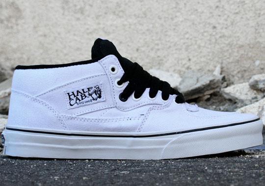 VANS Half Cab - White : 2790.-