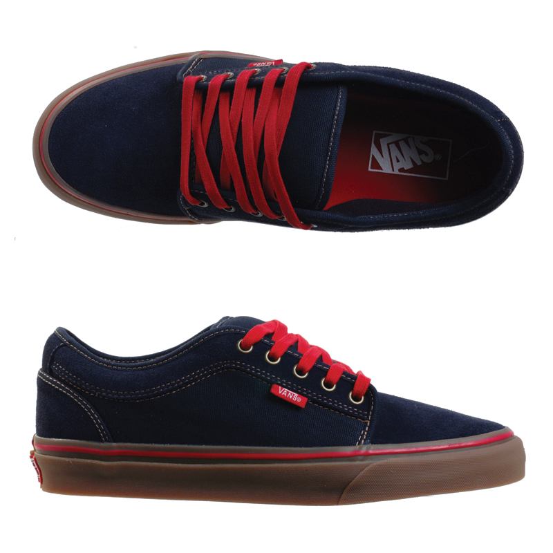 VANS Chukka low - Navy/Gum : Price 2490.-