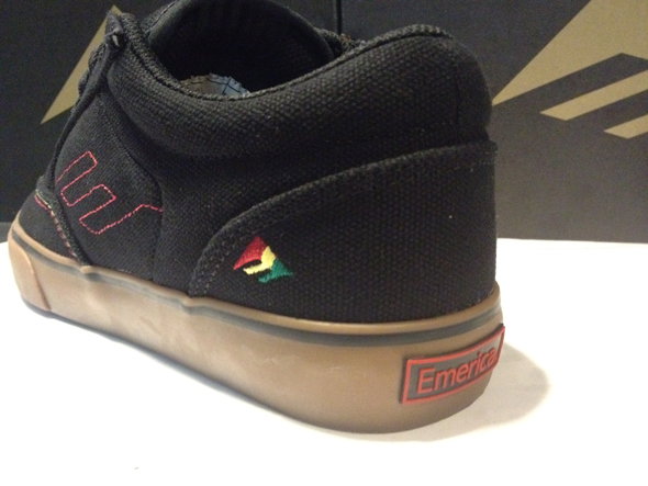 Emerica : Jinx - Black/Gum : Price 2900.-