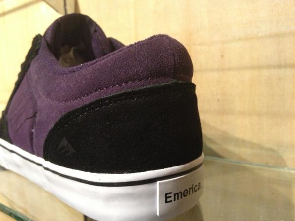 "Emerica : ""Jinx – Black/Purple"" : Price 2900.-"