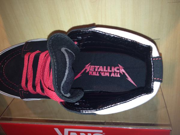 """VANS """"SK8 (Hi) – Metallica"""" [Kill 'Em All Series!] : Price 3800.-"""