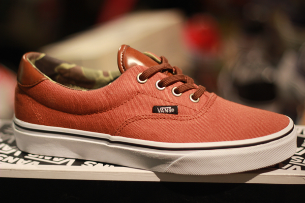 "VANS ""Era 59 (C&L) - Ginger/Camo"" [Seasoning Item!] : Price 2400.-"