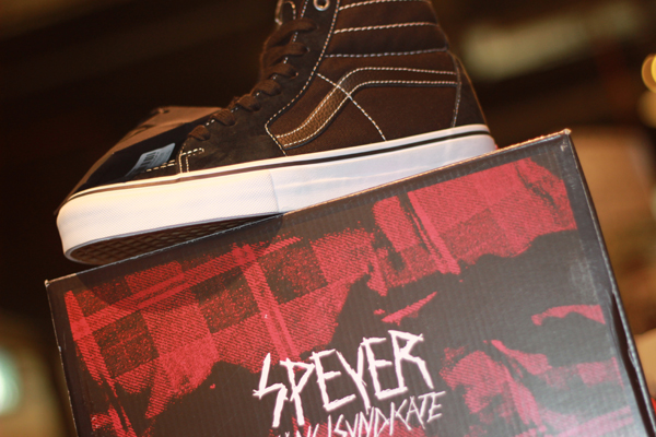 "VANS ""SK8-Hi '91 (Pro ""S"") - Wade Speyer x Syndicate"" [Collaboration - Limited Edition!] : Price 4800.-"