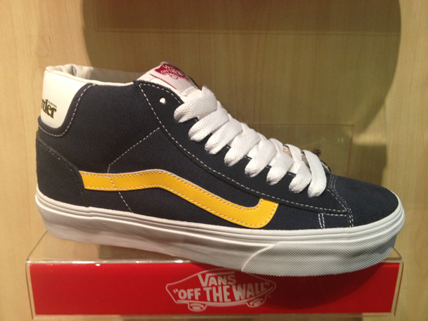 "VANS ""Mid Skool '77 - (Skateboarder Magazine) Navy/Yellow"" [Collaboration Limited Edition!] : Price 2900.-"