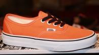 """ของหมดทุกไซส์ – ไม่มีของเข้ามาอีกแล้วครับ ^^  Vans: Authentic –Persimmon Orange/True White สี: พื้นส้มลายดำ/ขาว ราคา: 1,880.- ค่าส่ง: 100.- [EMS : 1-2 วันของถึงหน้าบ้านเลยครับ] รวม: 1,980.- Most Autumn! With TheVANS """"Authentic – Persimmon Orange/True […]"""