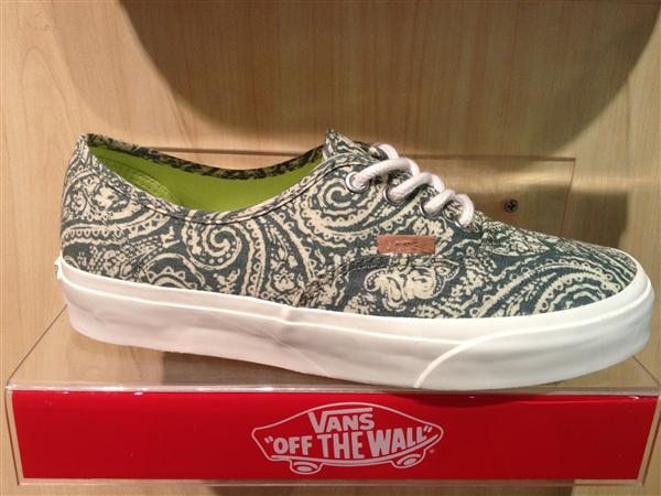 "VANS ""Authentic CA – (Paisley) Oliveine"" [Limited Edition!] : Price 2200.-"