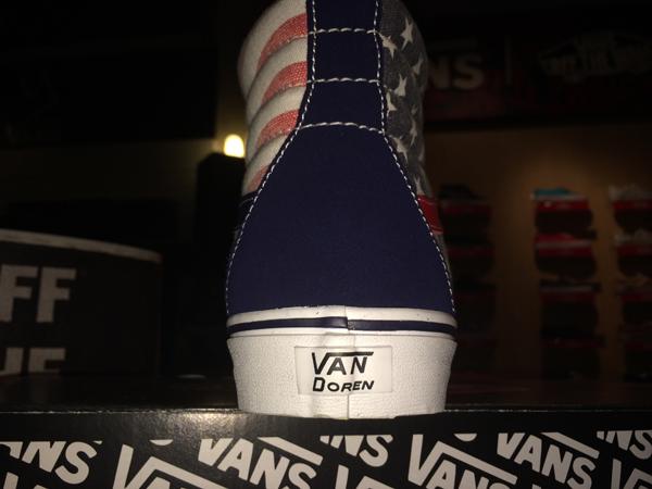 """VANS """"SK8-Hi Reissue - (Van Doren) Stars & Stripes"""" : Price 2900.-"""