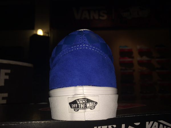 "VANS ""Old Skool  Reissue CA Pack - Embossed Check (Snorkel Blue) : Price 3290.-"