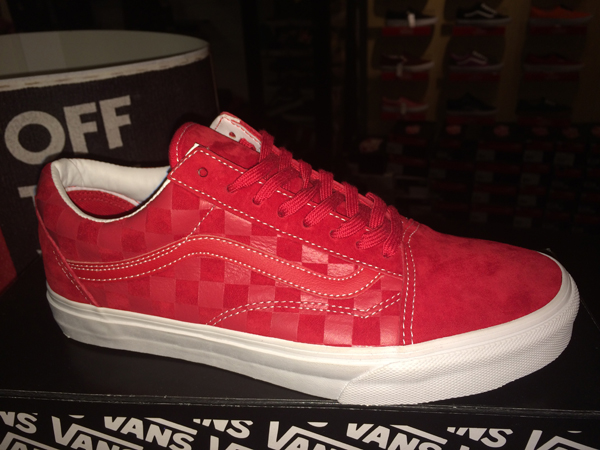 "VANS ""Old Skool  Reissue CA Pack - Embossed Check (Formula One) : Price 3290.-"
