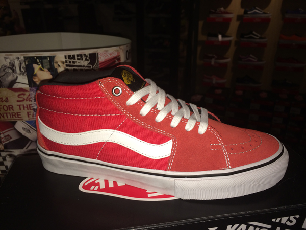 "f60692cce7 VANS ""SK8-Mid PRO – x (Black Label) Red""   Price"