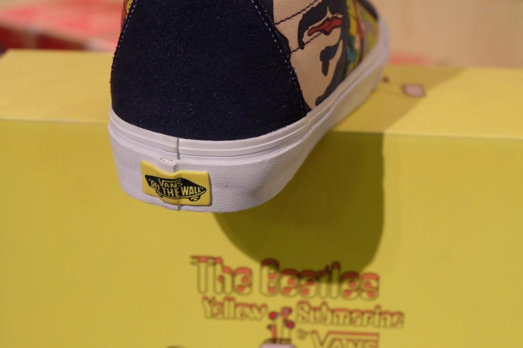 "VANS ""SK8-Hi Reissue (The Beatles) – Faces Dress Blues"" [Yellow Submarine Signature] : Price 4200.-"