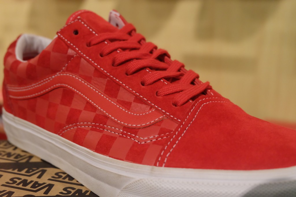 "รองเท้า VANS ""Old Skool Reissue CA Pack - Embossed Check (Formula One) : Price 3290.-"