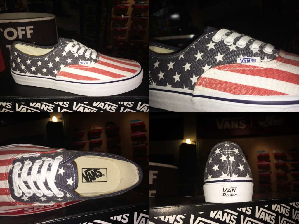 "รองเท้า VANS ""Authentic - (VAN Doren) Stars & Stripes : Price 2350.-"