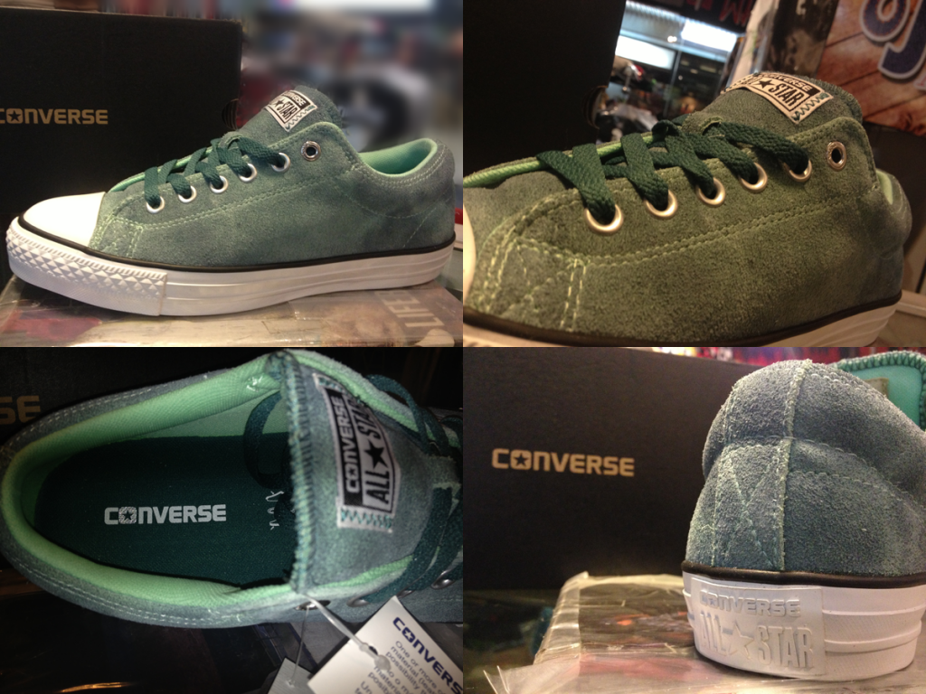 "CONS ""CTS Ox - Peppermint Green"" : Price 2600.-"