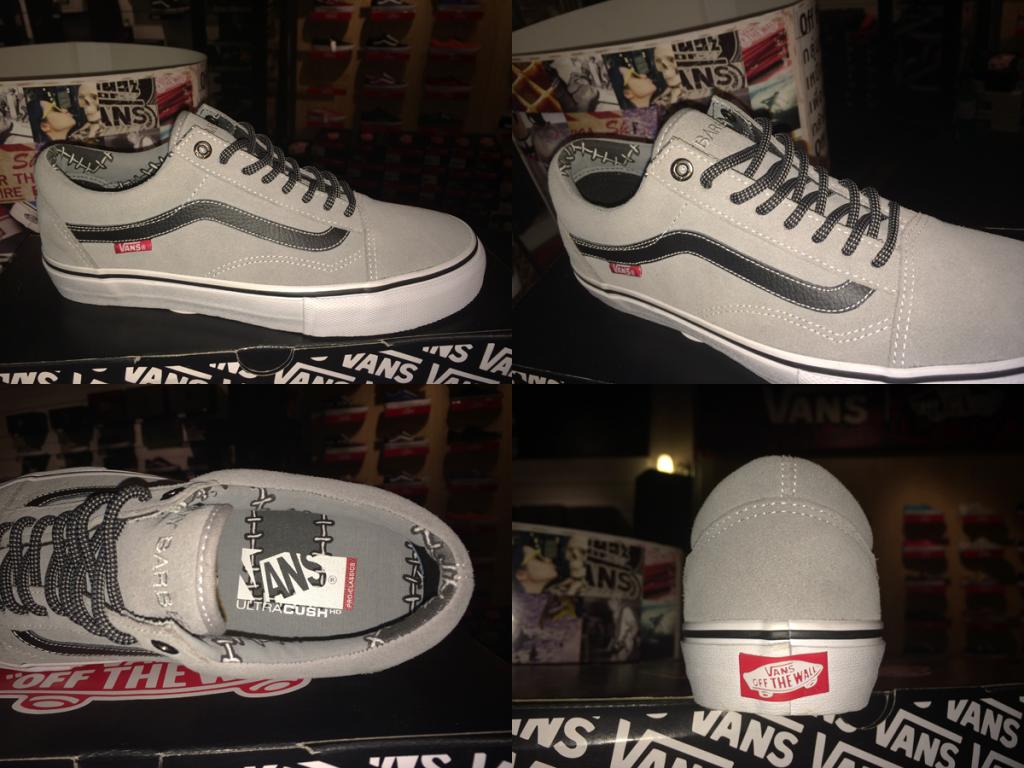 """รองเท้า VANS """"Old Skool 92 PRO - x Ray Barbee's (Mid Grey) : Price 3490.-"""