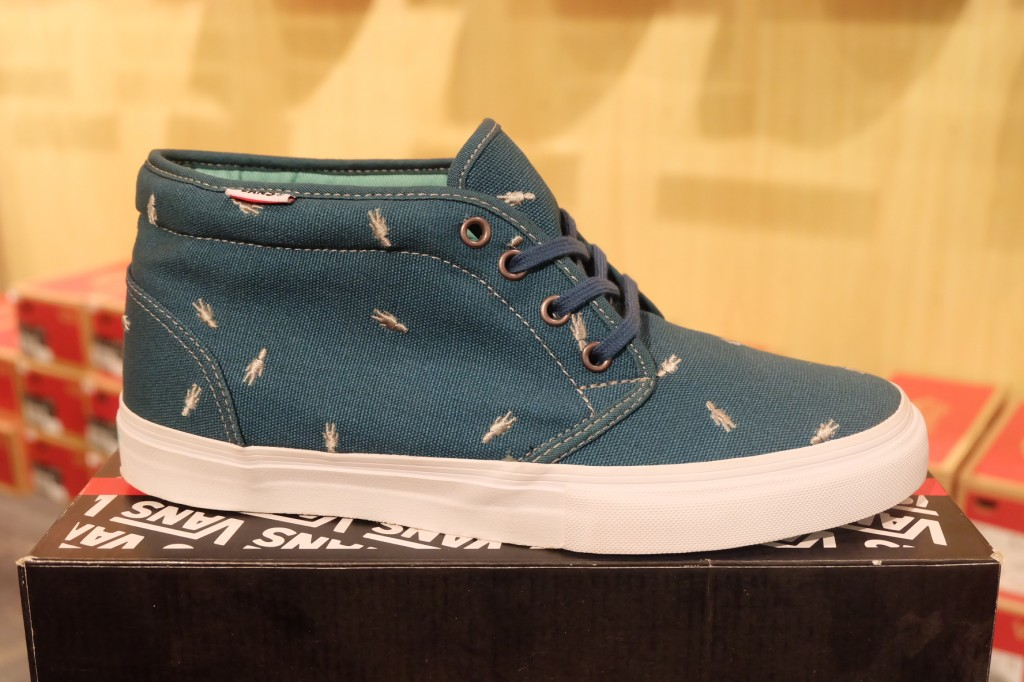 "VANS ""Chukka Boot PRO - (Alien Workshop) Lake"" : Price 3290.-"