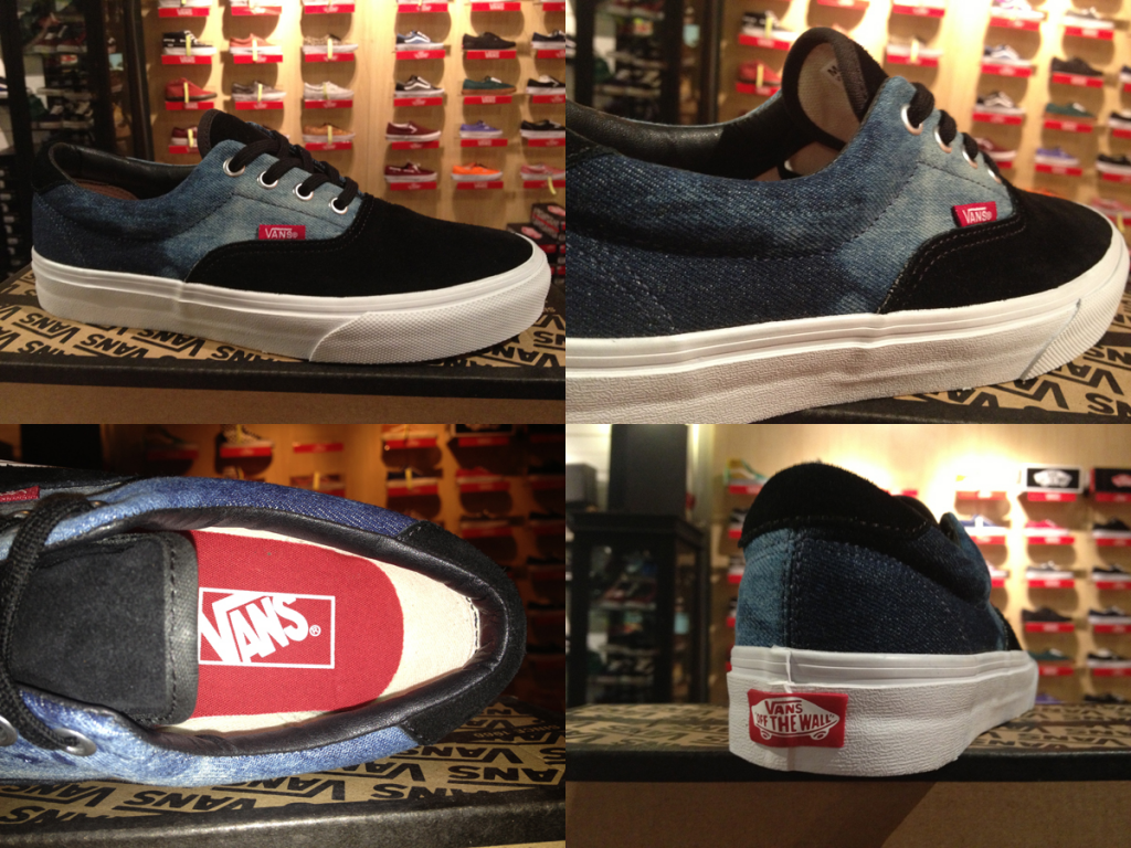 "Most Jean! With The VANS ""Era 59 - (Suede Denim) Black/Chili Pepper"" : Price 2590.-"