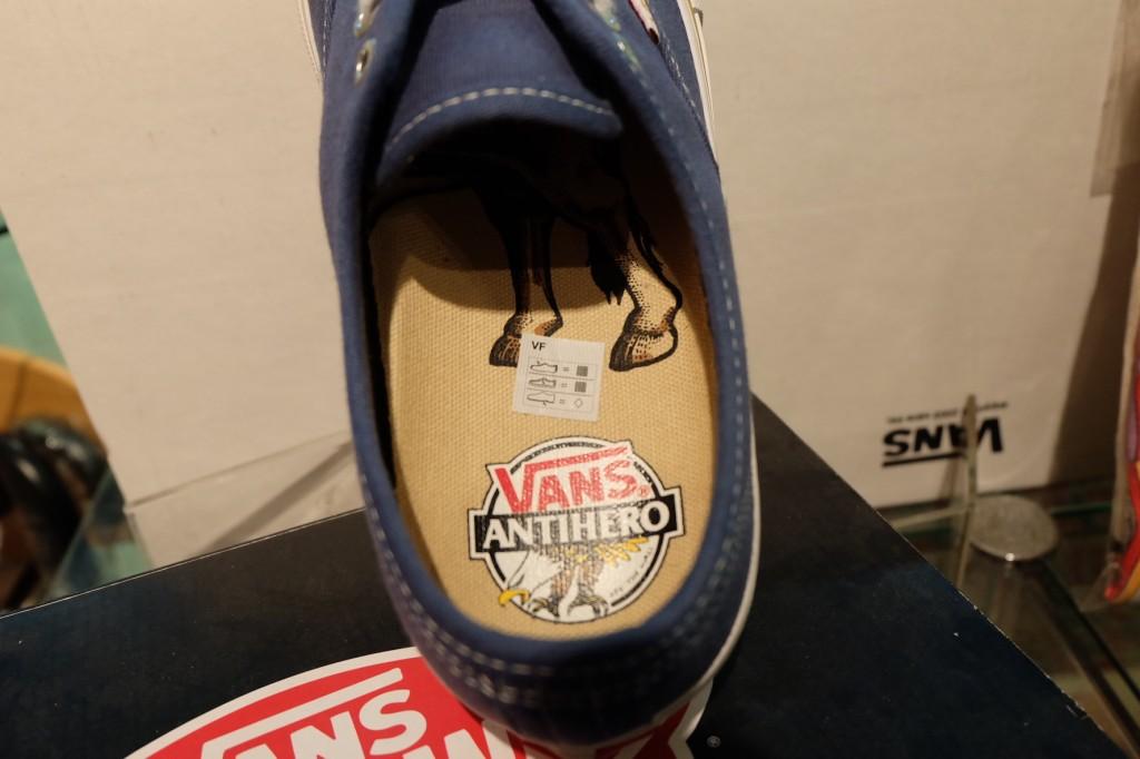 """รองเท้า VANS """"Authentic PRO - (Anti Hero) Blue/Stranger"""" : Price 3,490.-"""