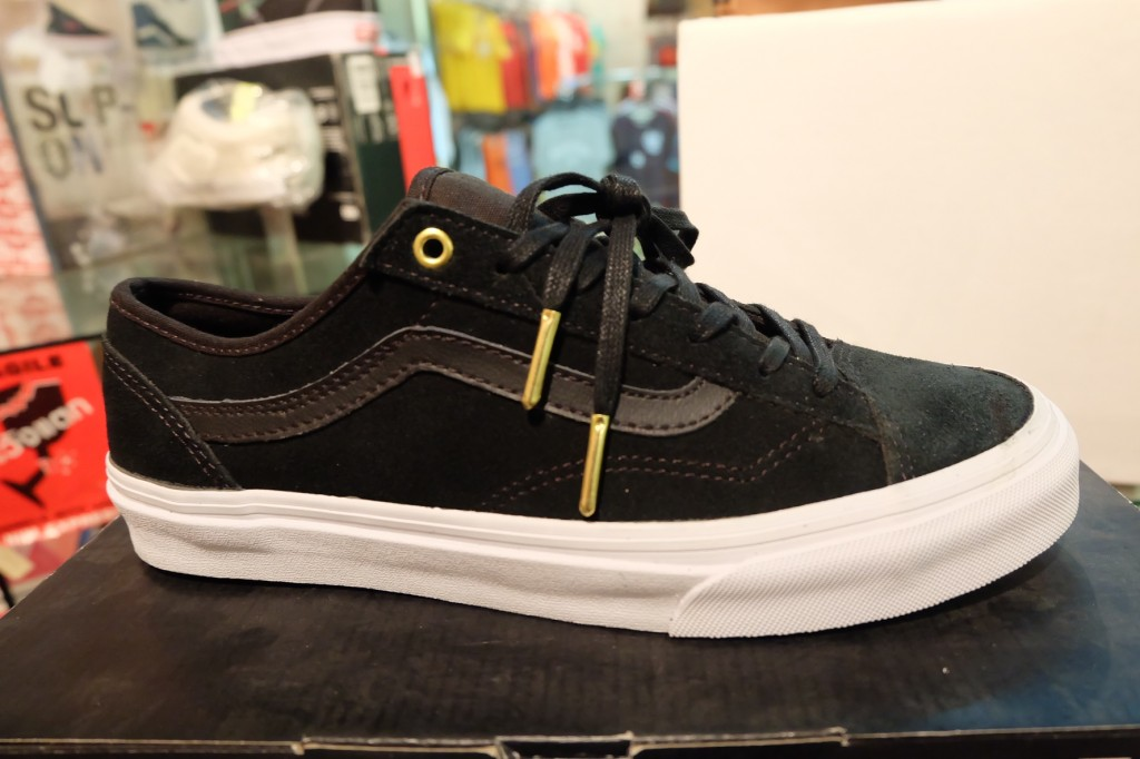 "รองเท้า VANS ""Style 36 Slim - (Gold Pop) Suede/Black"" : Price 3,000.-"