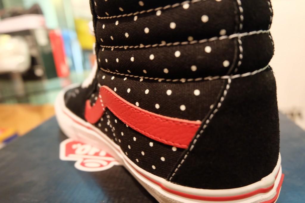 """รองเท้า VANS """"SK8-Hi (PRO) - (Dustin Dollin) Black/Polka Dots"""" : Price 3,590.-"""