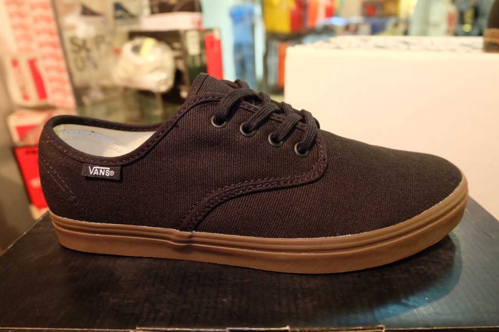 "รองเท้า VANS ""Madero - Black/Gum"" : Price 2,150.-"