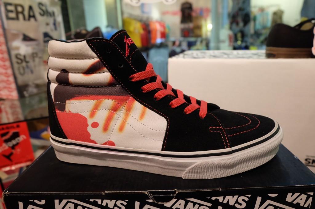"""รองเท้า VANS """"SK8 (Hi) - Metallica Signature (Kill 'Em All Series!)"""" [Collaboration - Limited Edition]"""" : Price 3,490.-"""