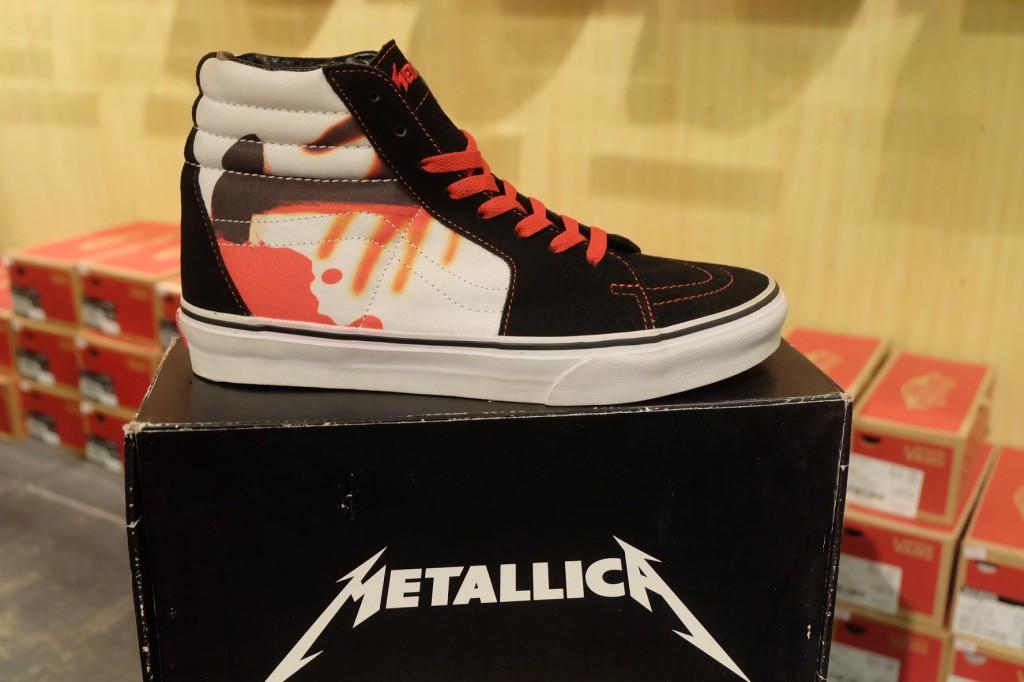 """รองเท้า VANS """"SK8 (Hi) – Metallica Signature (Kill 'Em All Series!)"""" [Collaboration - Limited Edition]"""" : Price 3,900.-"""
