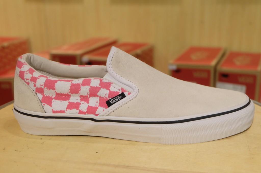 """รองเท้า VANS SYNDICATE """"Slip-On PRO """"S"""" - (Harmony Korine) White"""" : Price 5,400.-"""