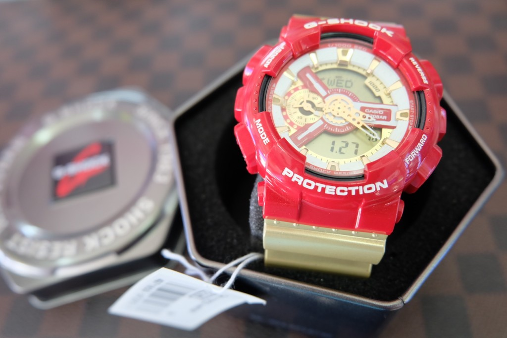 [G-Shock] GA 110CS - 4A (Ironman) ราคา : 4,990