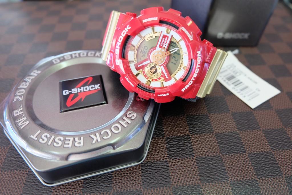[G-Shock] GA 110CS - 4A (Ironman) ราคา : 4,990