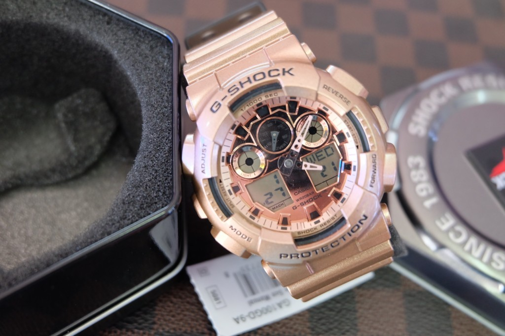 [G-Shock] GA 100GD - 9A (Limited Edition) : ราคา 4,590.-