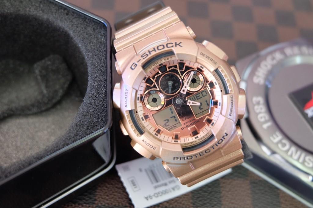 [G-Shock] GA 100GD - 9A (Limited Edition) : ราคา 4,590.-