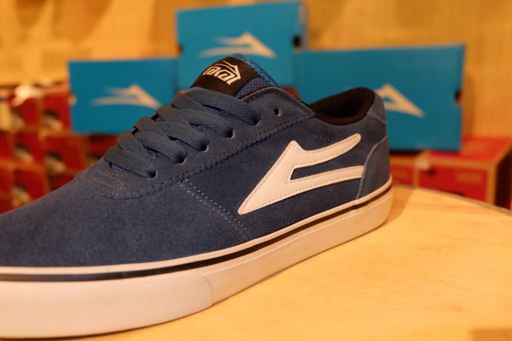 """รองเท้า Lakai """"Manchester – Ink Blue Suede"""" : Price 2,990.-"""