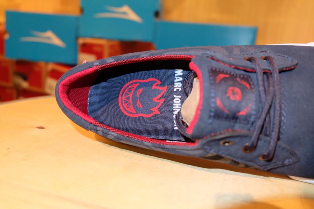 """รองเท้า Lakai """"M.J. - Midnight Suede Spitfire"""" : Price 3,100.-"""