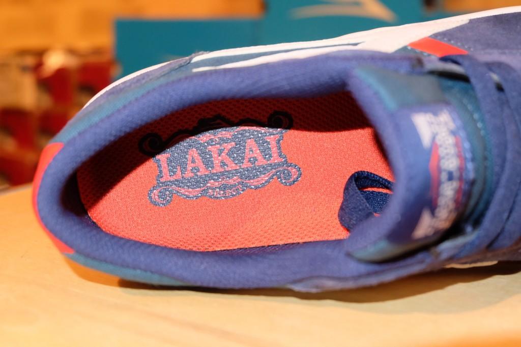 """รองเท้า Lakai """"Vincent - Navy Suede"""" : Price 2,990.-"""