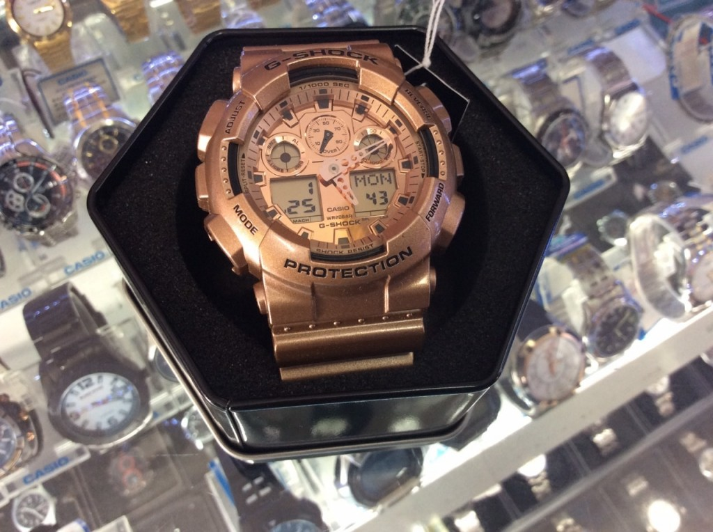 [G-Shock] GA 100GD – 9A (Limited Edition) : ราคา 4,590.-