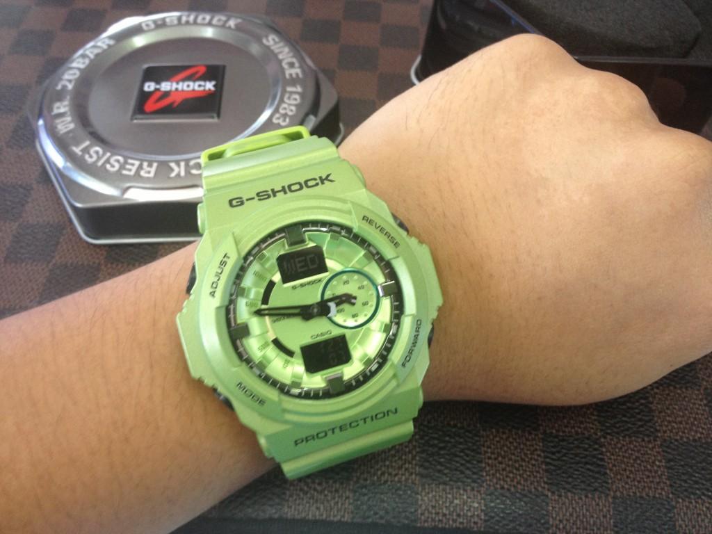[G-Shock] GA 150A - 3ADR : ราคา 4,250