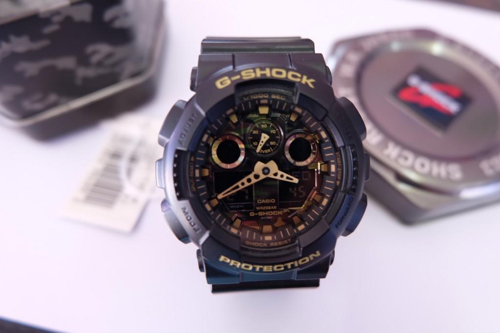[G-Shock] GA 100CF - 1A9 : ราคา 3,790.-