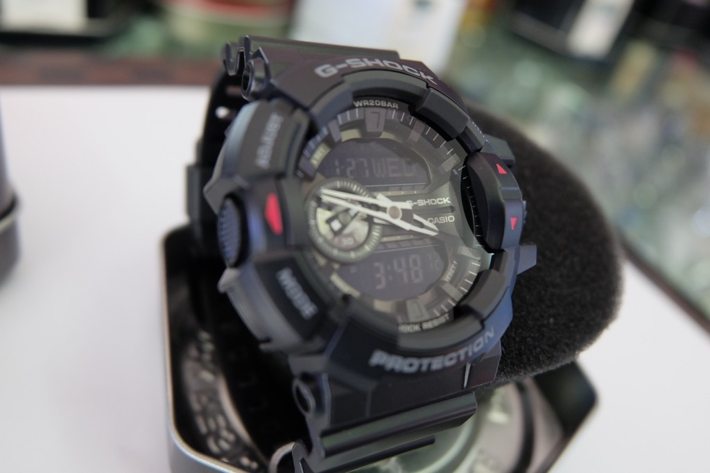 [G-Shock] GA 400 - 1BDR : ราคา 4,190.-