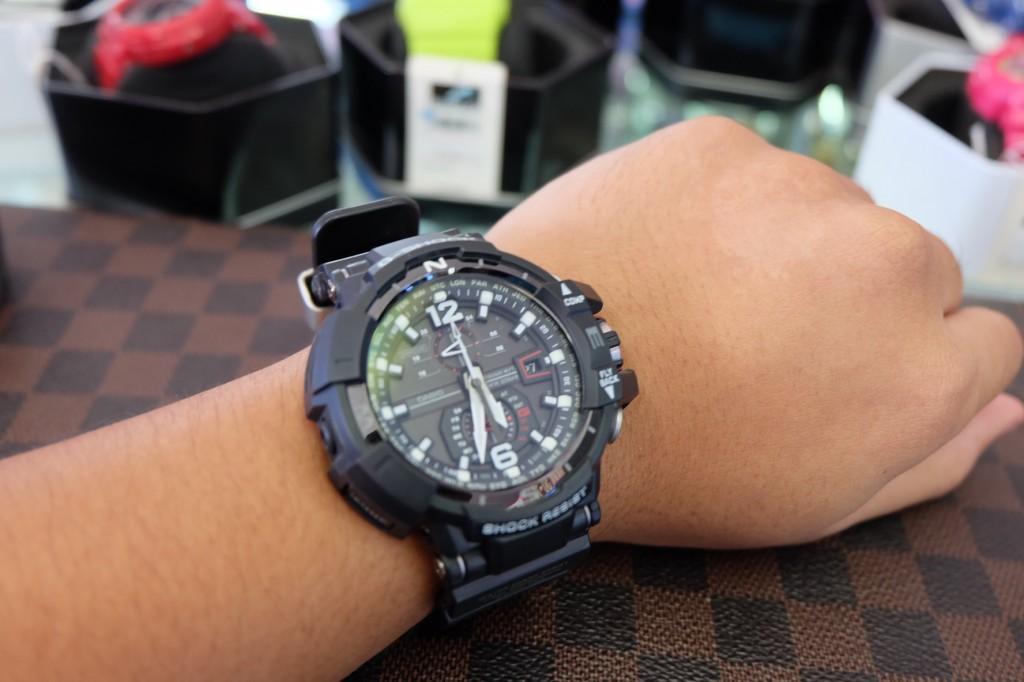 [G-Shock] GW A1100 - 1ADR ราคา : 15,750.-