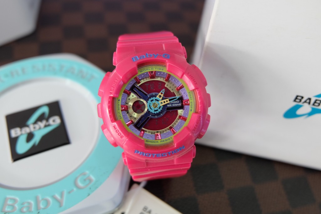 [Baby-G] BA 112 - 4A (Girls Generation SNSD Custom) : ราคา 3,790